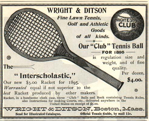 1895 Wright Ditson Club