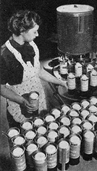 1938 Canning Tennis Balls