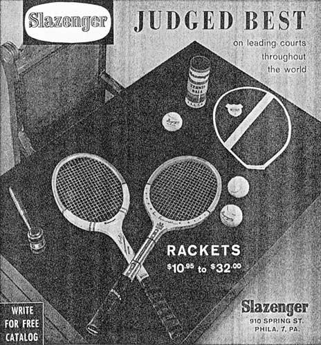1961 Slazenger