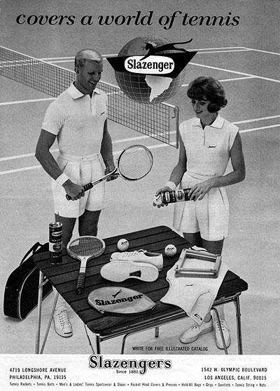 1964 Slazenger