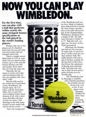 1983 Slazenger Wimbledon